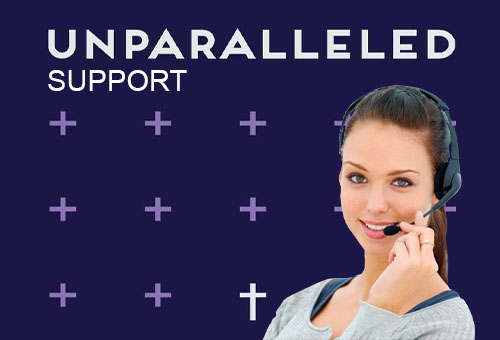 Unparalleled-Support